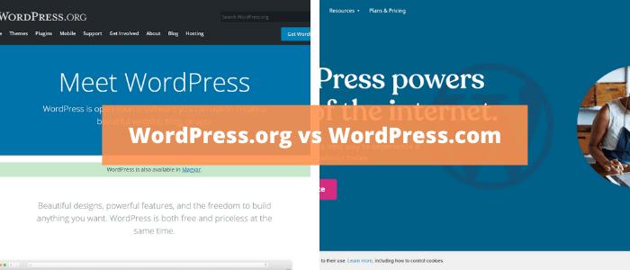 Mi az a WordPress? .org és .com különbségek